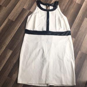 Ashley Stewart white black dressy dress size 24